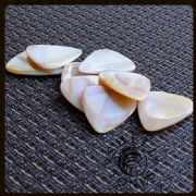Shell Tones - Pack of 4 Guitar Picks | Timber Tones